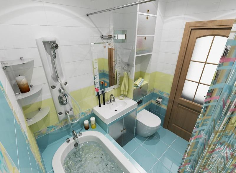 Ванная комната дизайн важные моменты