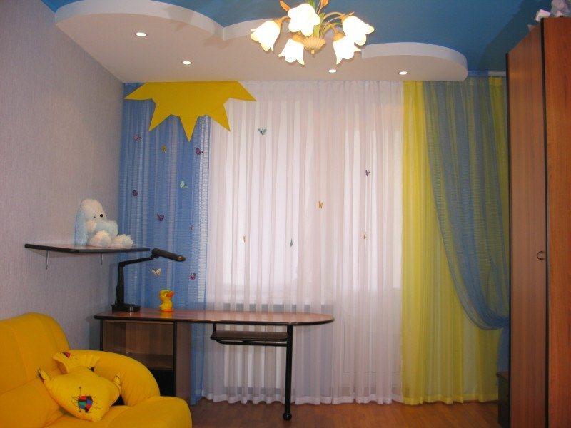 Шторы для детской спальни дизайн