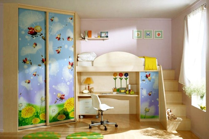 дизайн в детской комнате 2