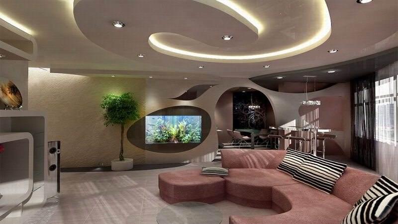 Дизайнерские стили оформления комнат