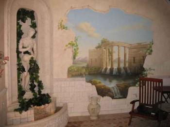 настенные фрески
