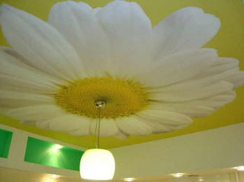 выбор тканевого потолка