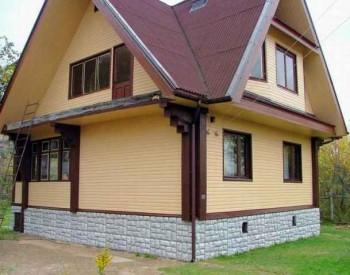 сайдинг деревянного дома