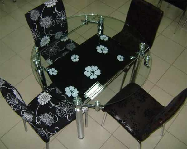 Мебель для дома: Стеклянные Кухонные Столы