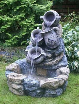 установка фонтана