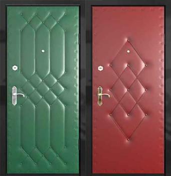 способ оббивки дверей