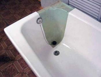 как реставрировать ванну