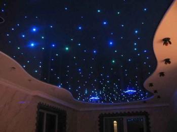 устройство звездного потолка