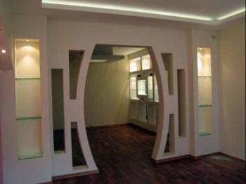гипсокартонная арка
