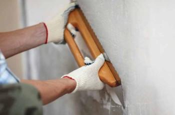 выравнивание стены для покраски