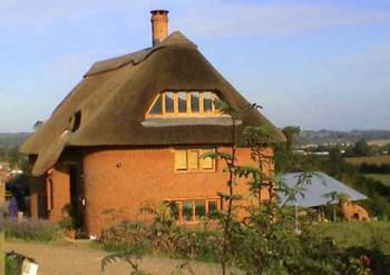 как построить соломенный дом