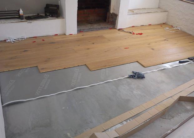 Укладываем ламинат на бетонный пол своими руками