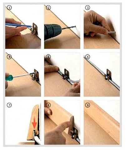 Монтаж плинтуса пластикового своими руками пошаговая инструкция 812