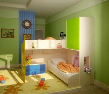 спальня для двоих детей