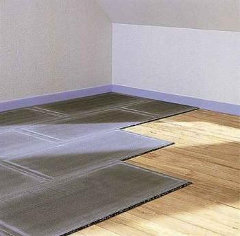 керамическая плитка на деревянный пол