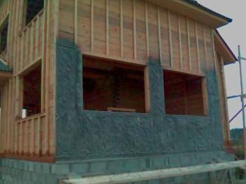 как утеплить деревянный каркасный дом