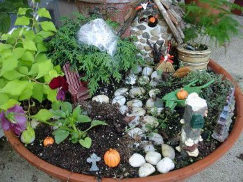 декорации для сада