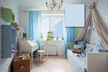 пастельные обои для комнаты