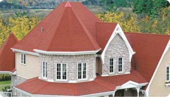 шатровая крыша частного дома