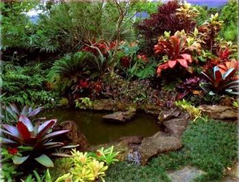 декоративное оформление сада