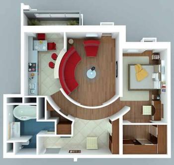 планировка и дизайн помещения