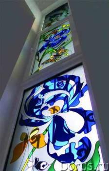 узорчатое стекло для дома