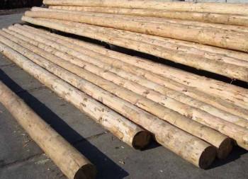 виды деревянного фундамента