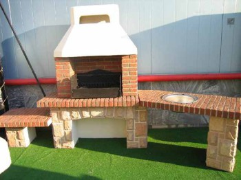 строительство мангала на даче