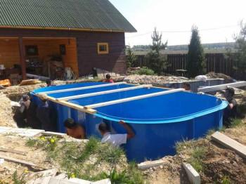 востребованность пластиковых бассейнов
