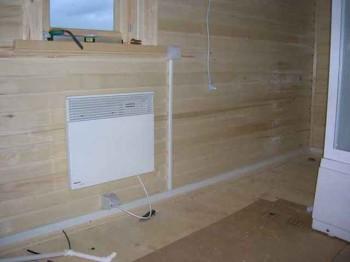 проведение электричества в деревянном доме