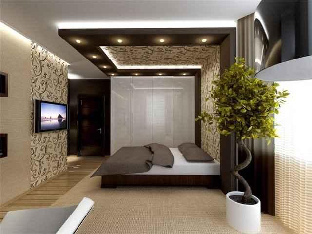 Освещение спальни интерьер