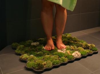 виды ковриков для ванной
