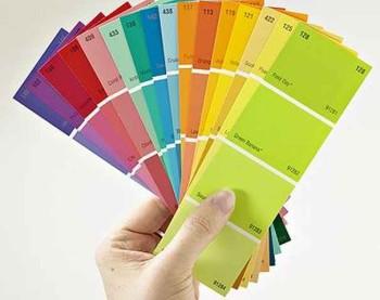 выбор цвета для стен