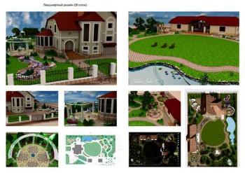тематический ландшафтный дизайн