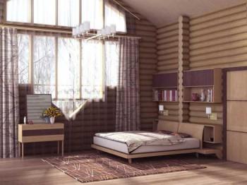красивый дизайн деревянного дома