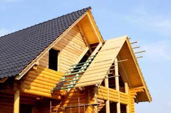 крыши применяемые для деревянного дома