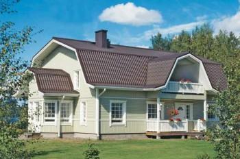 материалы для строительства ломаной крыши