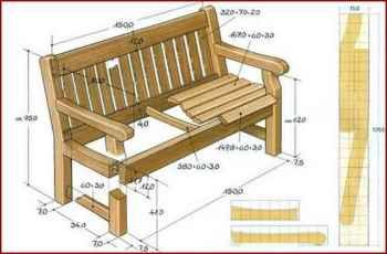 как смастерить скамейку