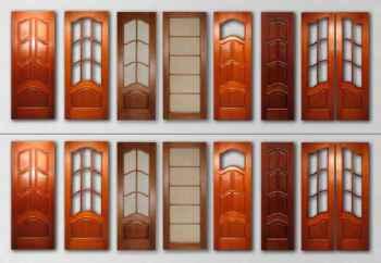 материалы для изготовления деревянных дверей