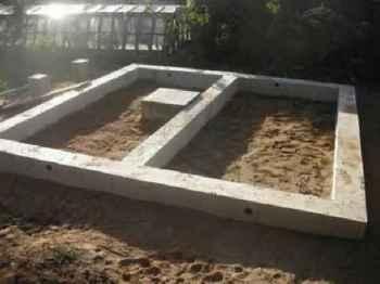 грунт под фундамент для бани