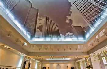 натяжной потолок для помещения