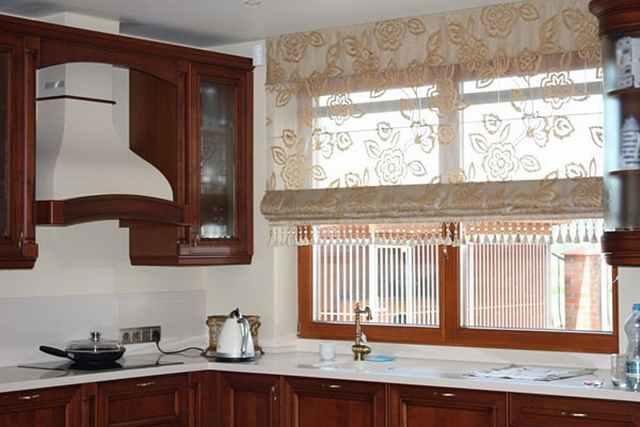 Римская штора на кухню видео
