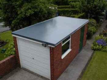 плоская крыша для гаража