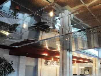 виды кассетных панелей на потолок