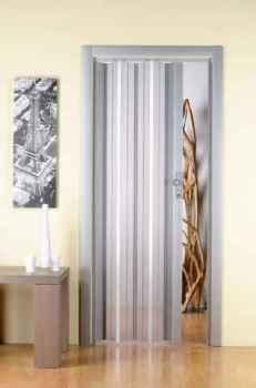 установка межкомнатной двери гармошка