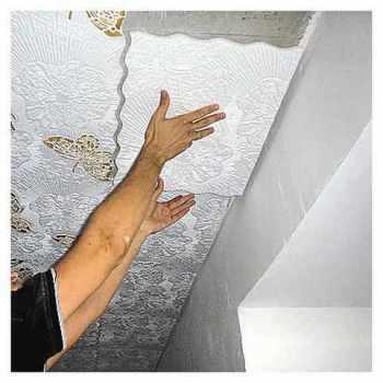 характеристики потолочной  плитки