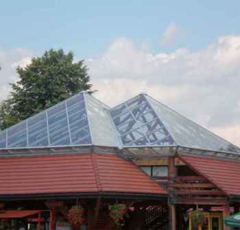 особенности поликарбонатной крыши