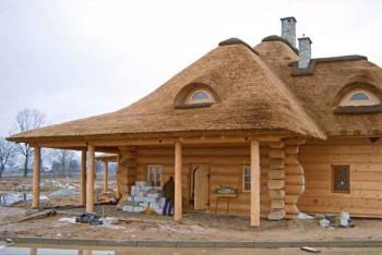 особенности кровли деревянного дома