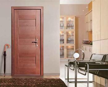 металлическая дверь входная с обшивкой
