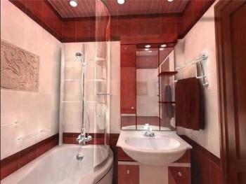 тонкости дизайна маленькой ванной